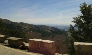 Sierra Madrid frome car view by AnnarXy