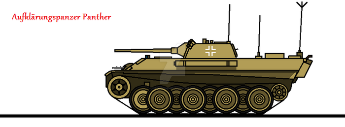 Aufklarungspanzer Panther by thesketchydude13