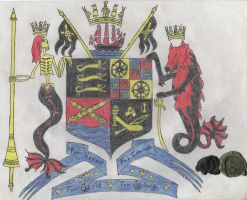Coat of Arms of the Knights of the Black Flag by Edward-Smee