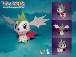 Chibi Skymin Papercraft by Lyrin-83
