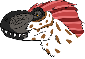T-Rex Bust by AIpha-King