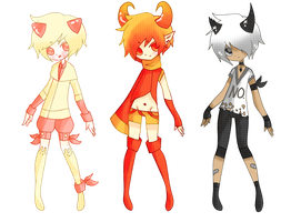 Adoptables. {06-08} Crystal Demons. [CLOSED] by Piiyo-chan