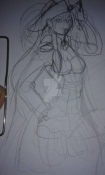 wip: pirata by ExcaliburRose