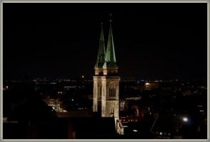 Church at night by deaconfrost78
