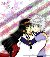 HxH : Alluka and Killua by xcredensjustitiamx