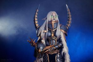 Maiev Shadowsong from World of Warcraft by KatyaKeller