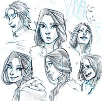 Expressions Sketch - Luilin! by Myed89