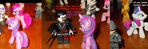 MLP: MEETING THE LEGO PEOPLE PART 1 by TMNTFAN85