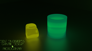 Glass and Block by DeafDachshunds