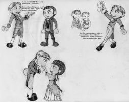 SP: Broadway doodles by Chemartist