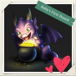 Baby's First Hoard by MaidenOfTheBlade