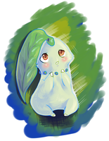 .: Belle the Chikorita :. by Aluri