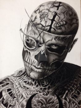 Zombie boy by mariana-a