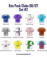 Kits Pack Clubs 06-07 Set No.2 by wevenezuela