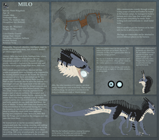 Milo Ref Sheet by Ophiuchae