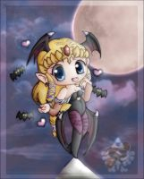 +:Halloween 2008 Zelda chibi:+ by Lady-Zelda-of-Hyrule