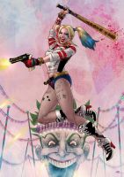 Harley Quinn by Kid-Eternity