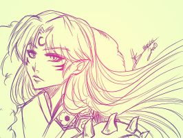 Sesshomaru by xMarsXXX