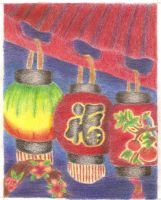 Chinese Lanterns by Yutsuki-chan