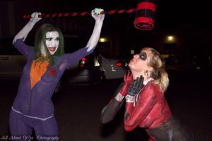 Body Paint Harley and Joker 5 by MooneWolfe