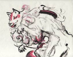 Freebrush Amaterasu by PsycArtist