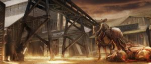 Stunk Crick Concept for Jonah Hex by anihausdrew