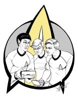 Boldly Go .Inked. by Sulfyr