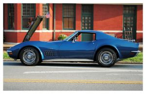 Cool Blue Corvette Stingray by TheMan268