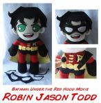 Under the Red Hood Robin by rosey-so-silly