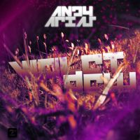 Andy Arias Violet Dew CD cover by badendesing