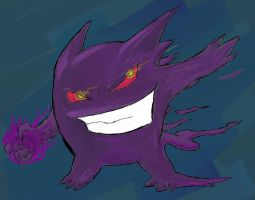gengar is the man by dante224