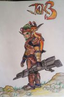 Jak and Daxter Drawing by GearsGirl6295