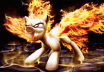 Flame On _ Illustration for Discords Friendzy by Tsitra360