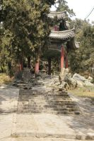 Pagoda - Summer Palace by rensstocknstuff