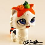 Tama the Sushi Cat custom LPS by thatg33kgirl