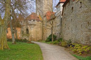 town wall by Mittelfranke