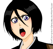 Rukia Kuchiki~ Coloured by XxXtOMATOfaceXxX