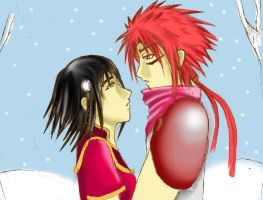 Romance in the Snow by Kyou-Megi