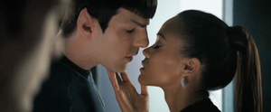 Spock and Uhura by kemurikat