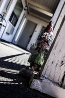 Zombie Gnome by thedustyphoenix