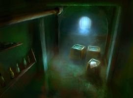 The cellar by Redface
