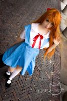 .:Asuka Langley Soryu Schooluniform:. by SecondImpactCosplay