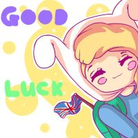 Good Luck Britain! by Endette