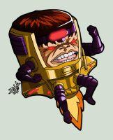 mvc3 Modok by Chizel-Man