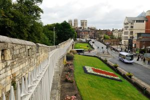 York - city wall 1 by wildplaces