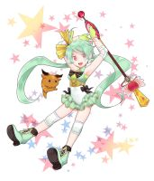 Magical Girl in Osaka by quackmire