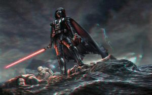Vader 3-D conversion by MVRamsey