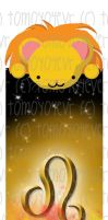 Horoscope Bookmarks::Leo by t0m0y04evr