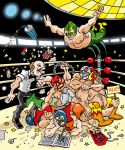 Lucha Libre by POLO-JASSO
