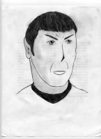 Mr. Spock by Elc54